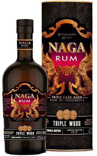 Rum naga triple wood