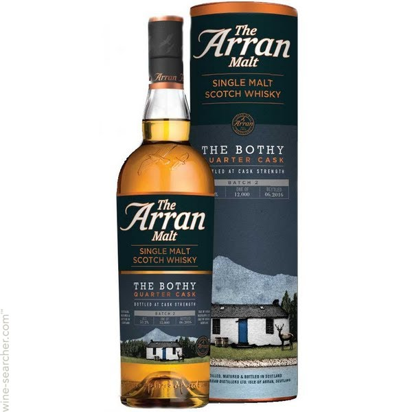 Arran The Bothy Quarter Cask batch 2016