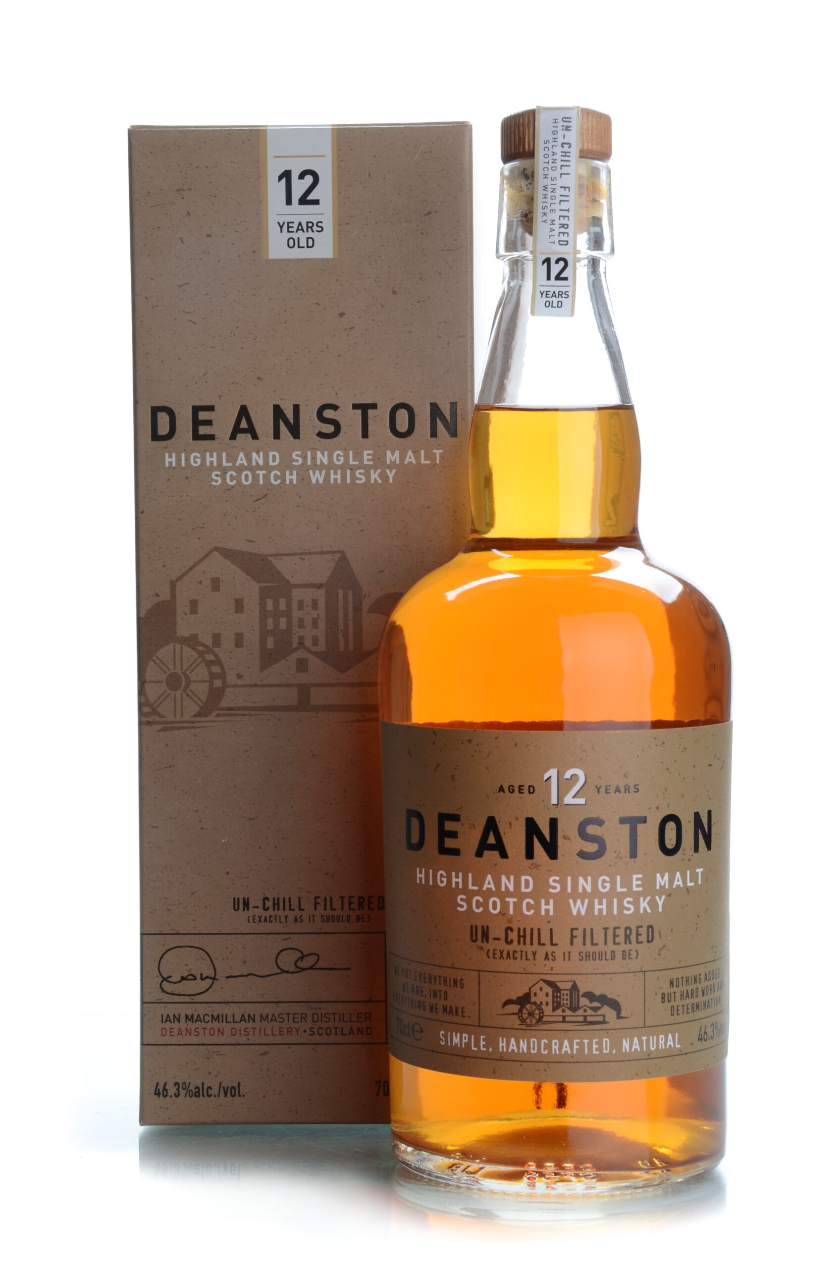 Deanston 12 years unchillfiltered