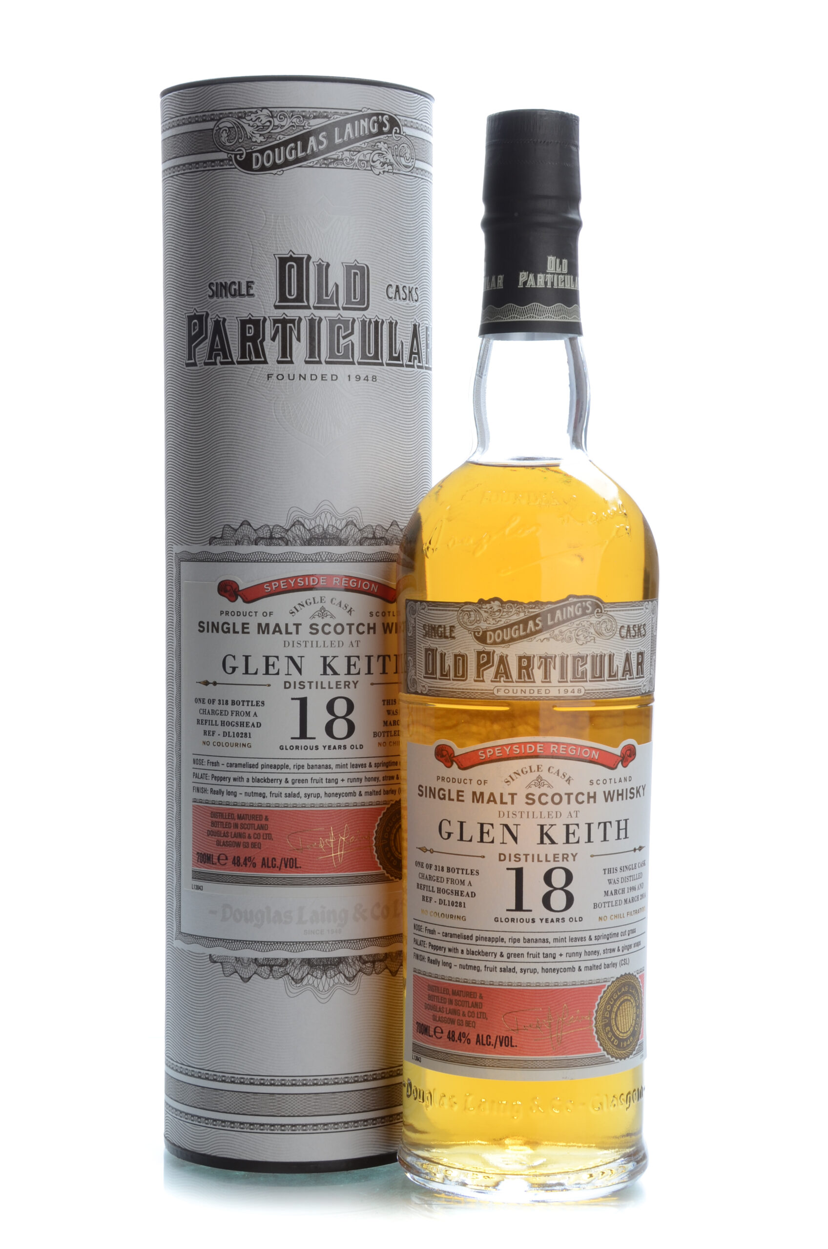 Old Particular Glen Keith 18 years