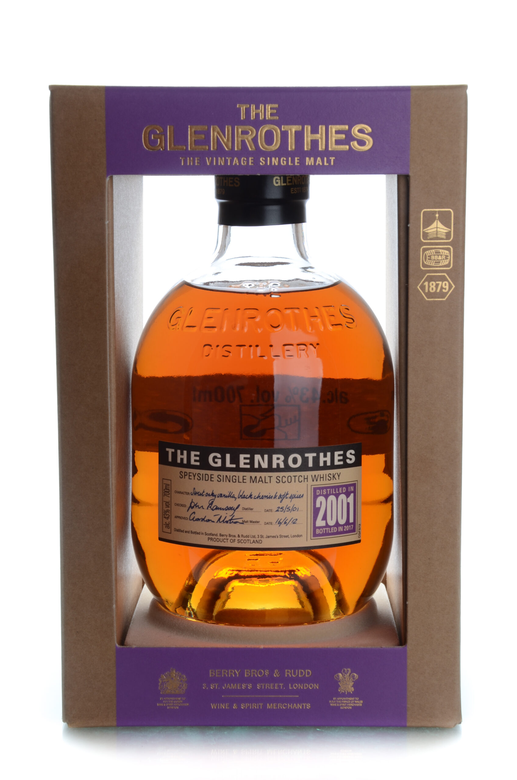 The Glenrothes 2001