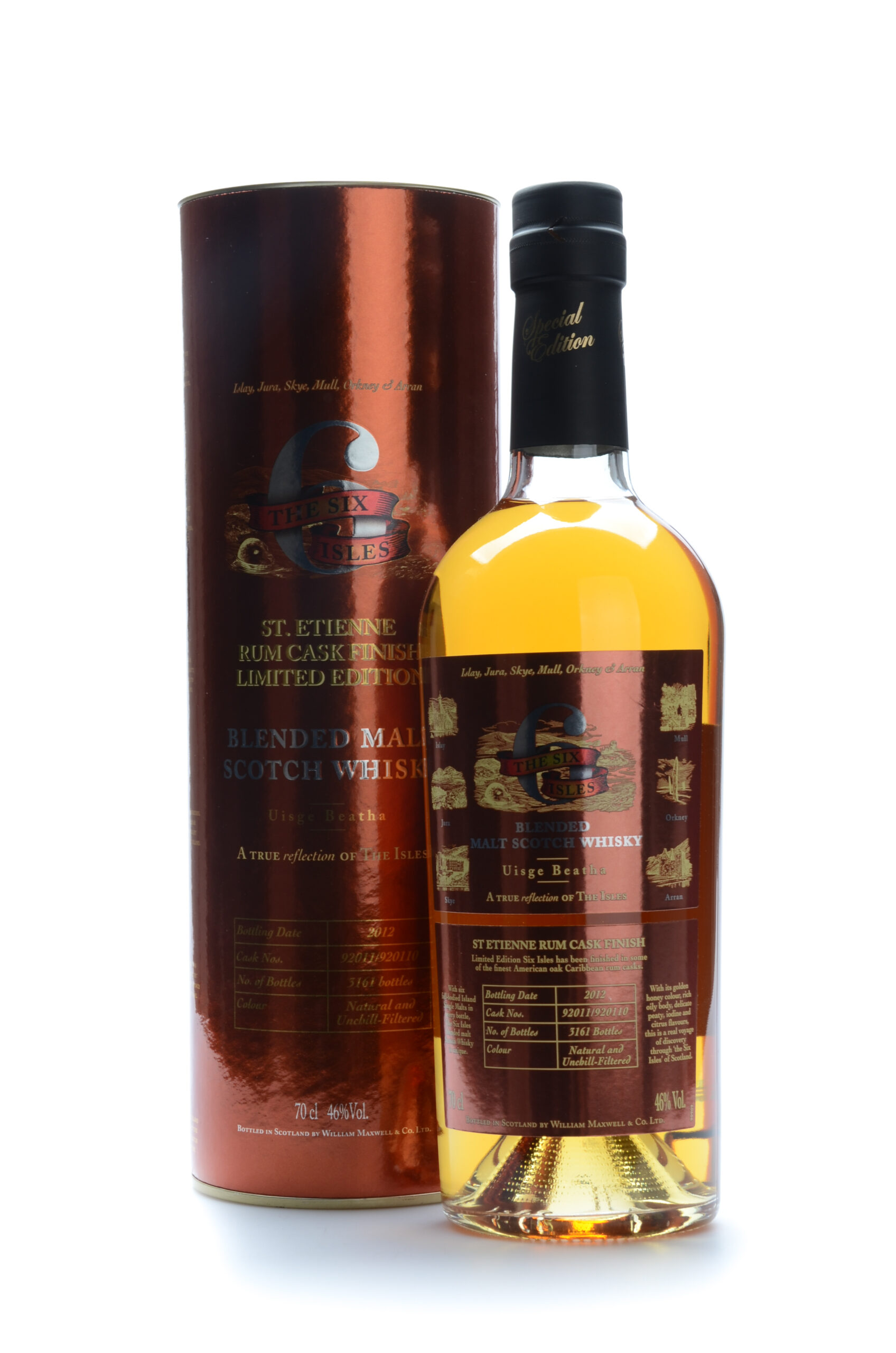 The Six Isles St.Etienne rum cask