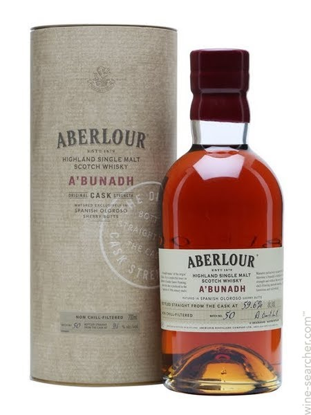 Aberlour A'Bunadh sherry butts 59,6°  batch 50