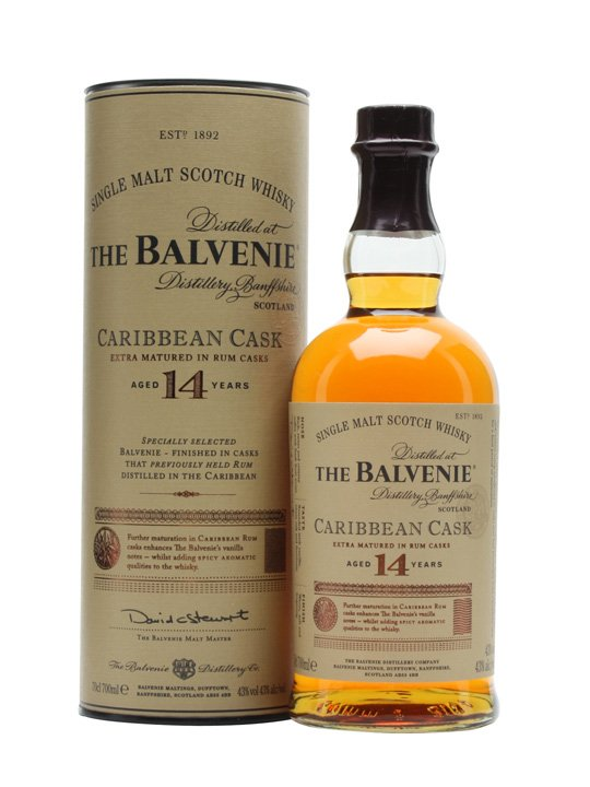 The Balvenie 14 y.o. Carribian cask 43%