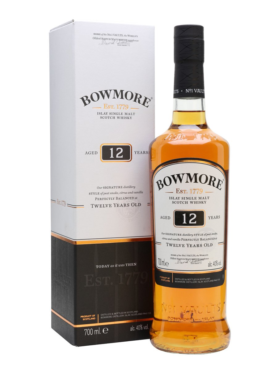 Bowmore 12 Y.O. Islay  40°