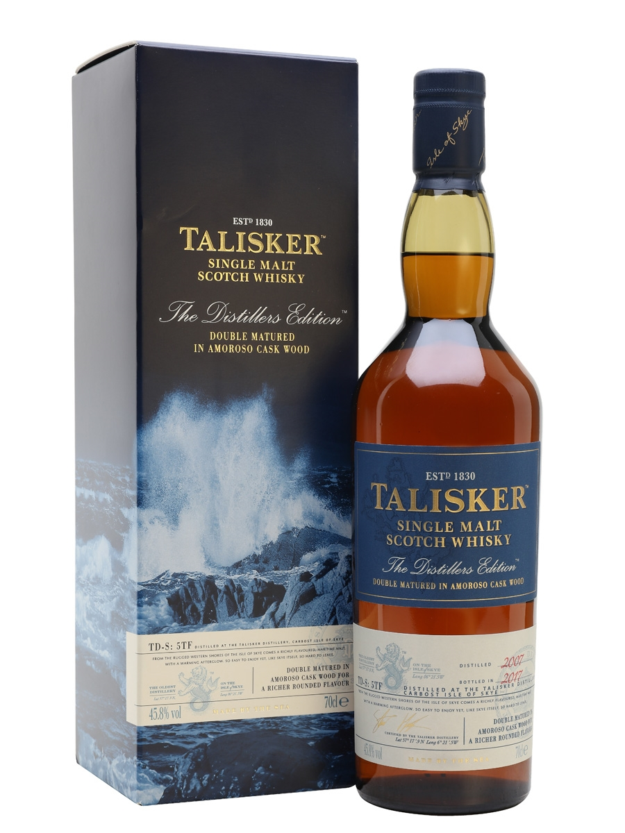 Talisker distillers edition 2007 bt 2017  45.8°