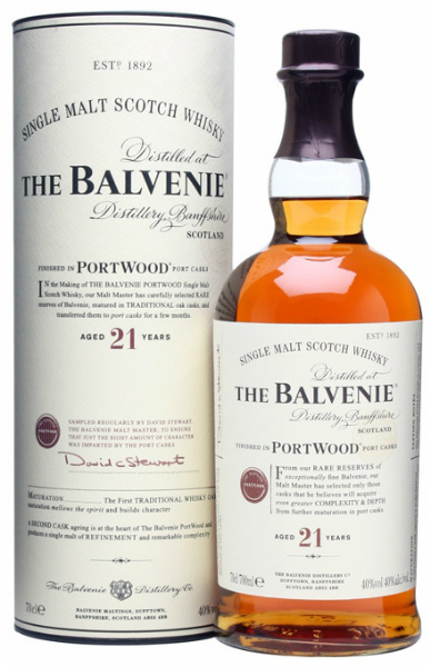 The Balvenie 21 y.o. port wood 40%