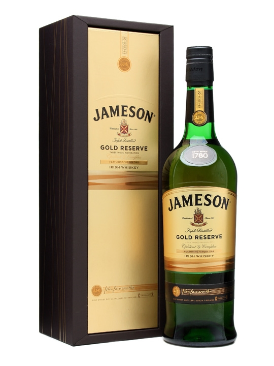 Jameson gold reserve 40°