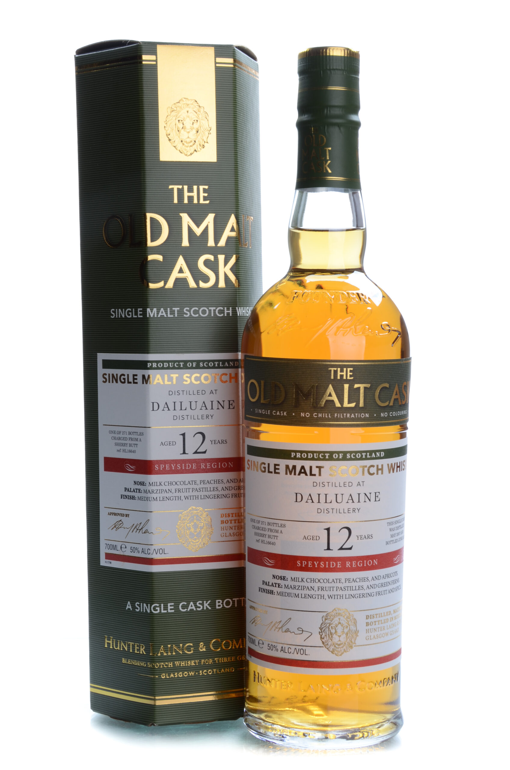 The Old Cask 12 years