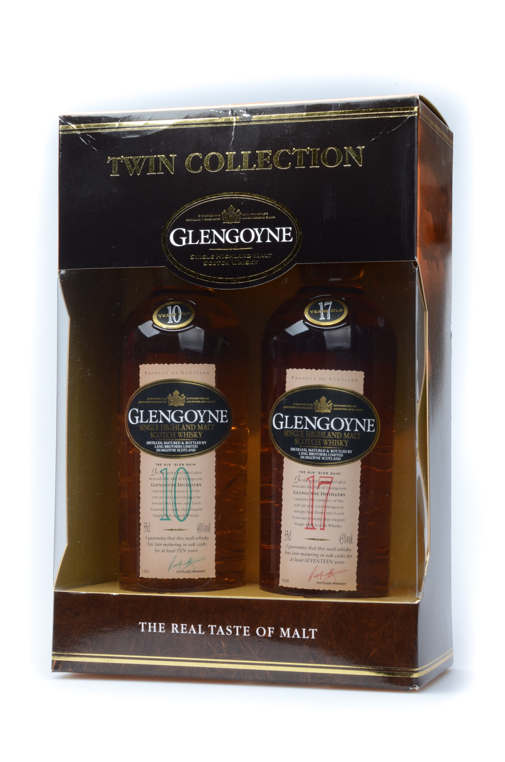 Glengoyne Twin Collection 10 and 17