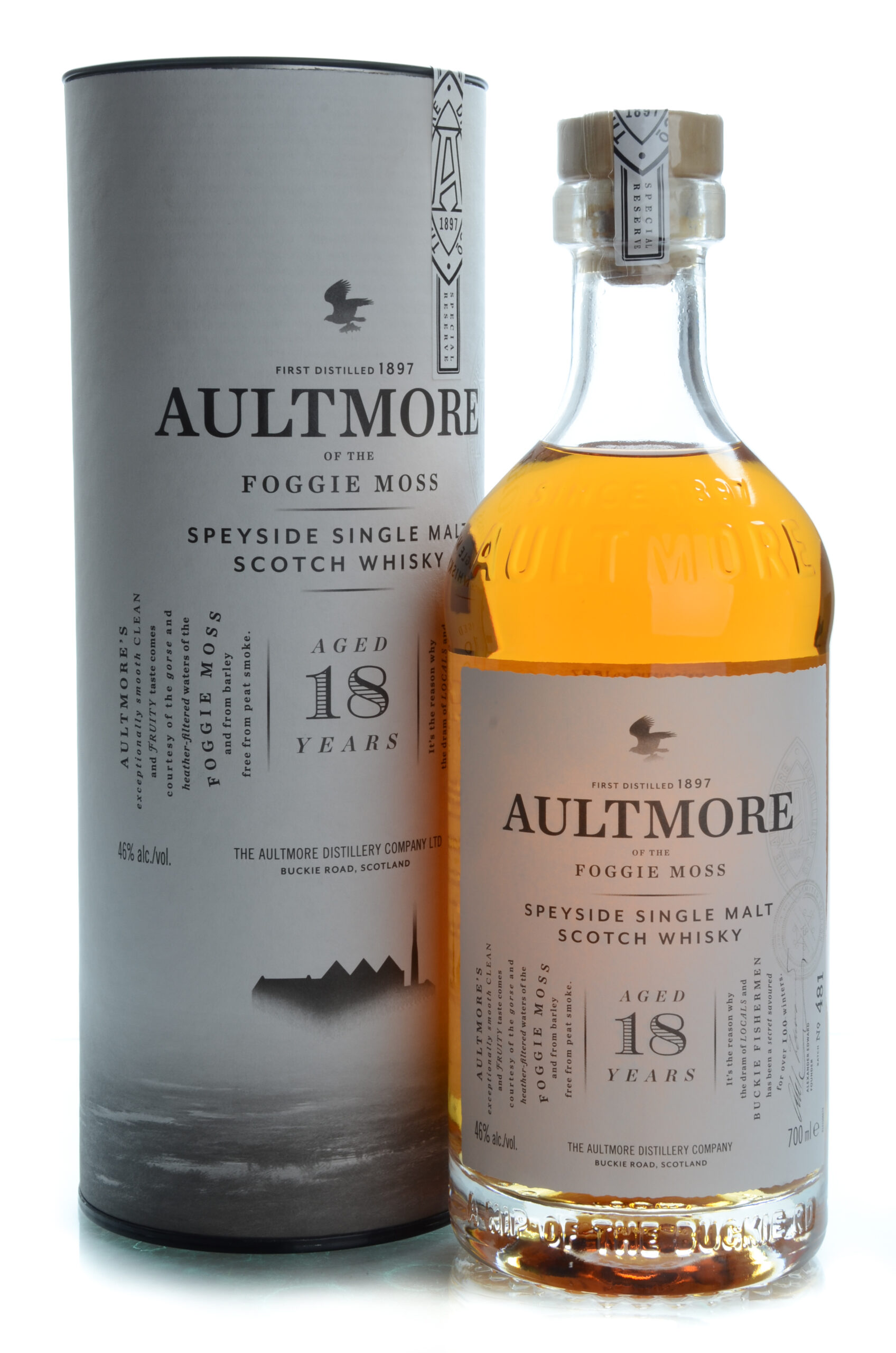 Aultmore of the Foggie Moss 18 years