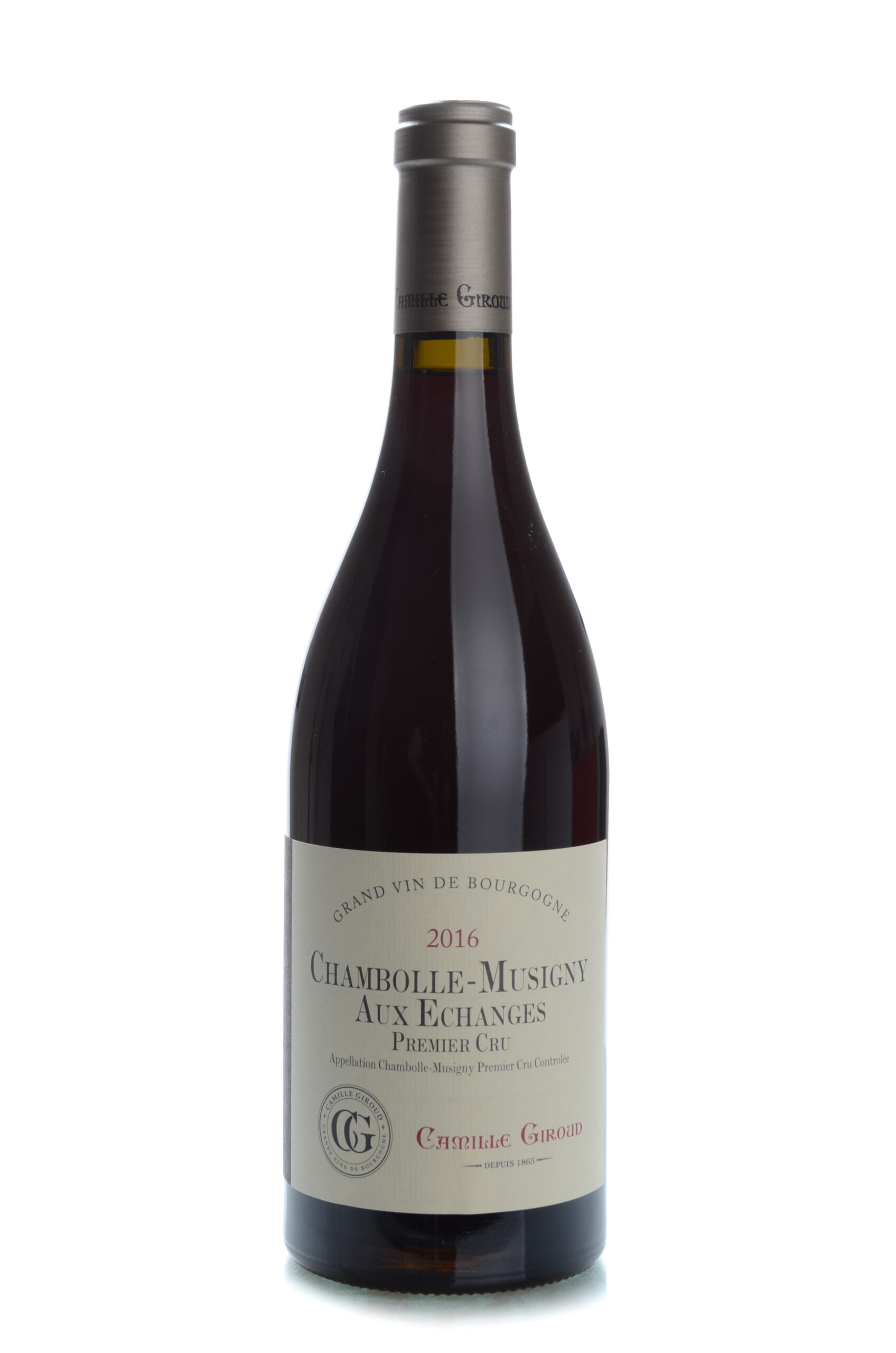 Camille Giroud Chambolle-Musigny Aux Echanges 1 Cru