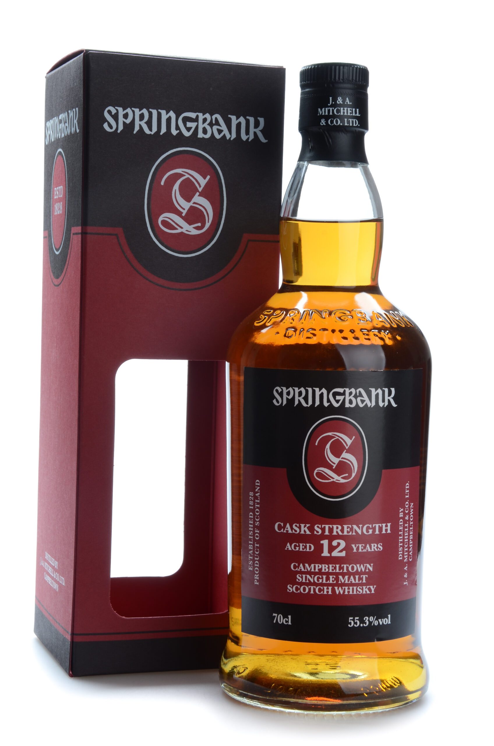 Springbank cask strength 12 years 55.3%