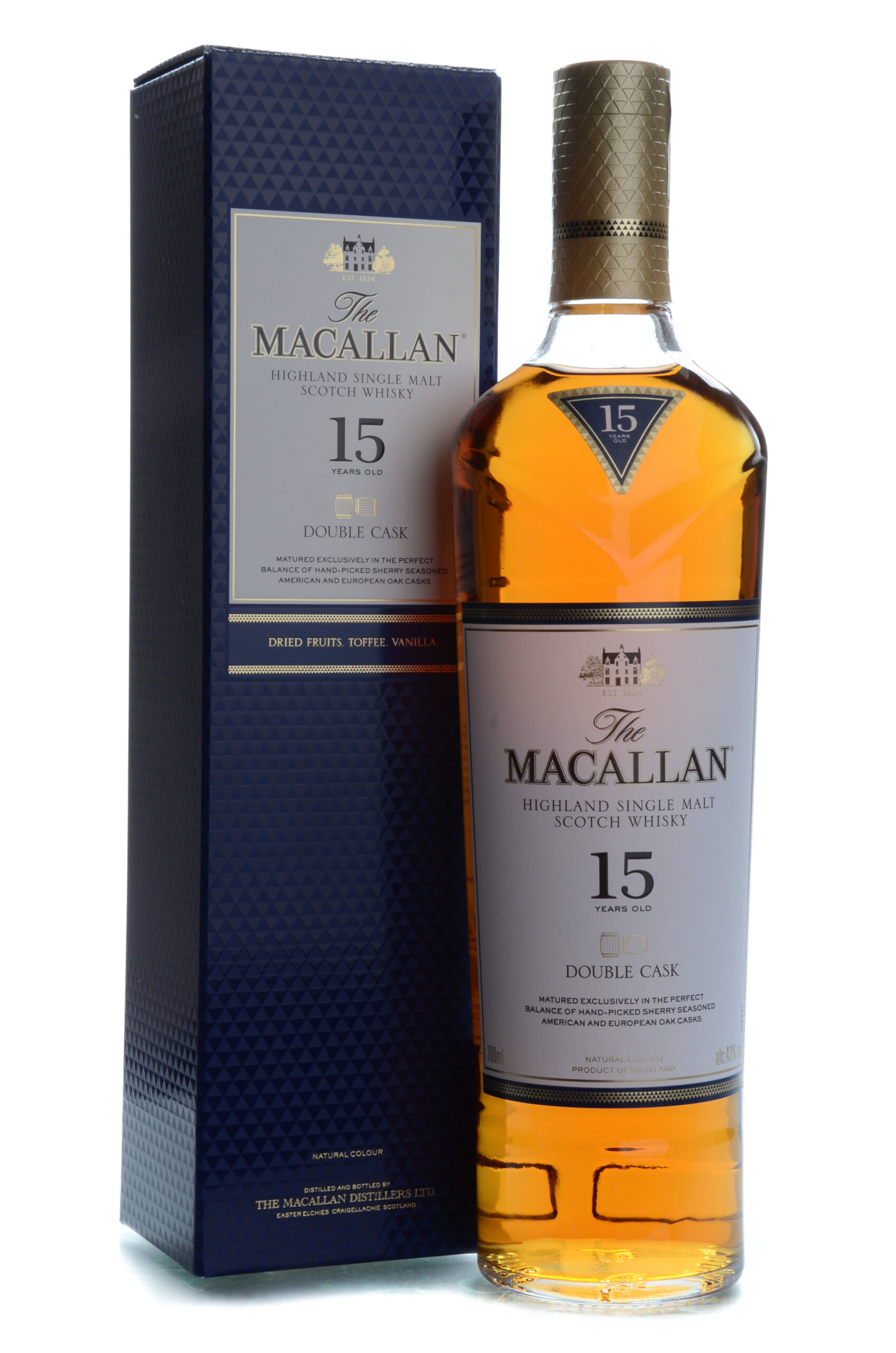 The Macallan 15 years double cask