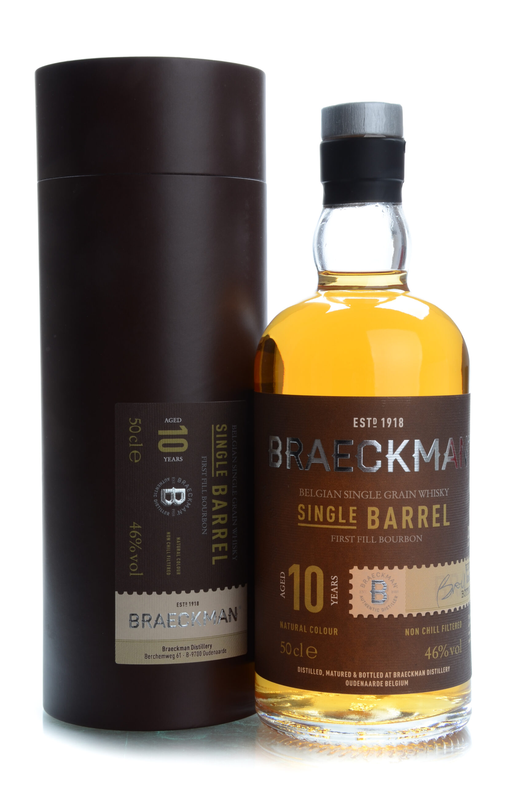 Braeckman 10 years Single Barrel