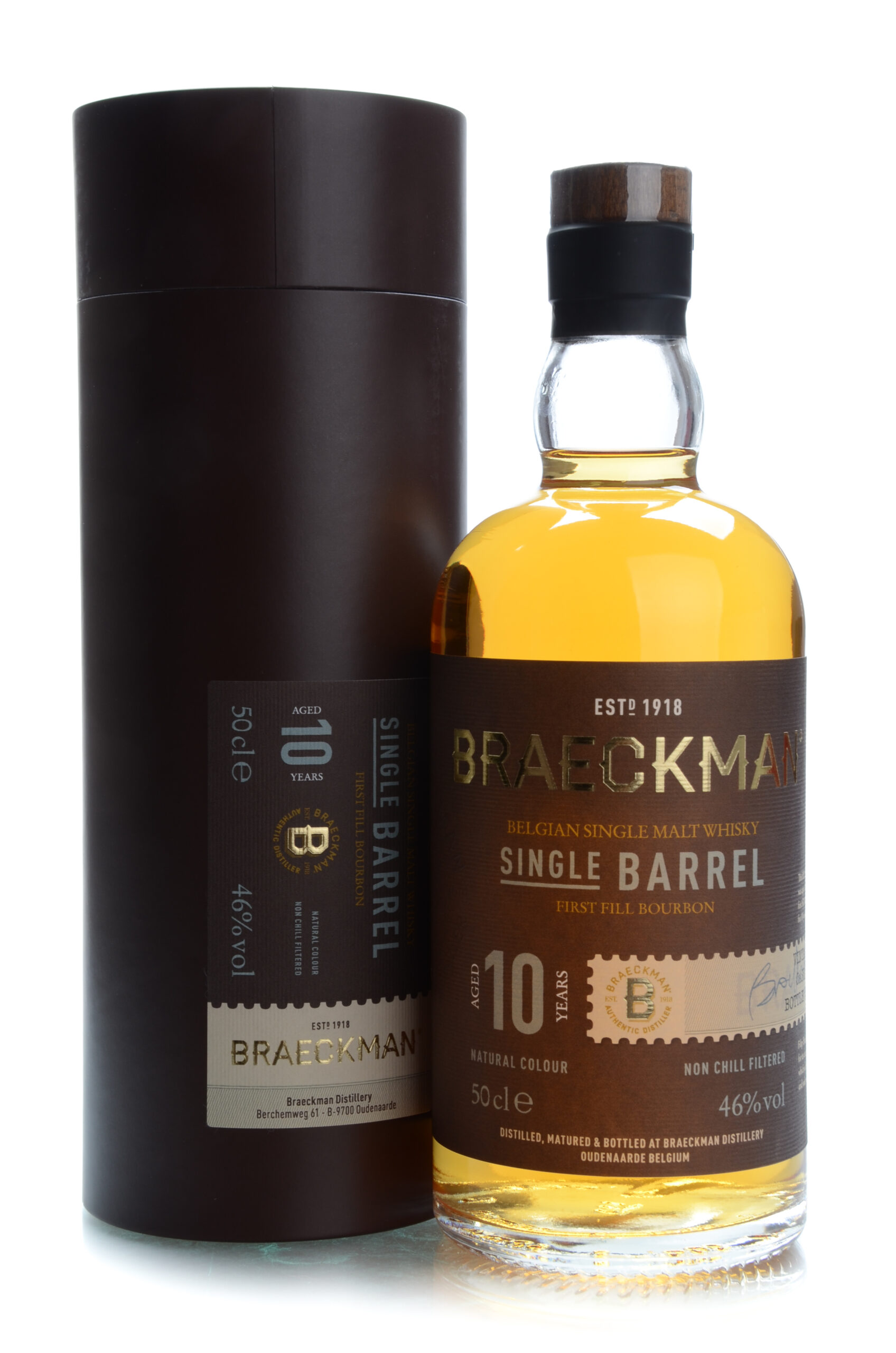 Braeckman 10 years first fill bourbon