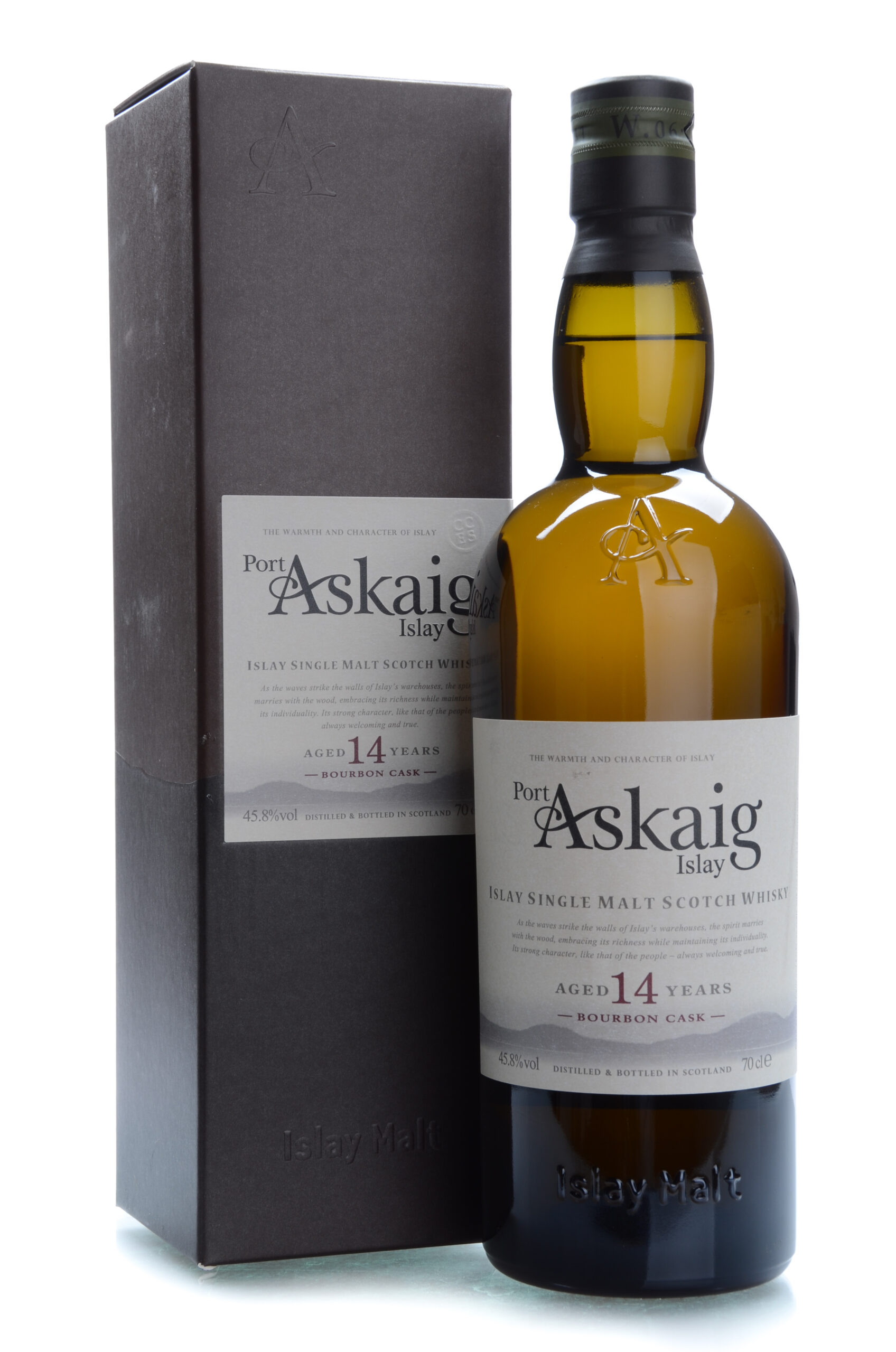 Port Askaig Bourbon cask 14 years