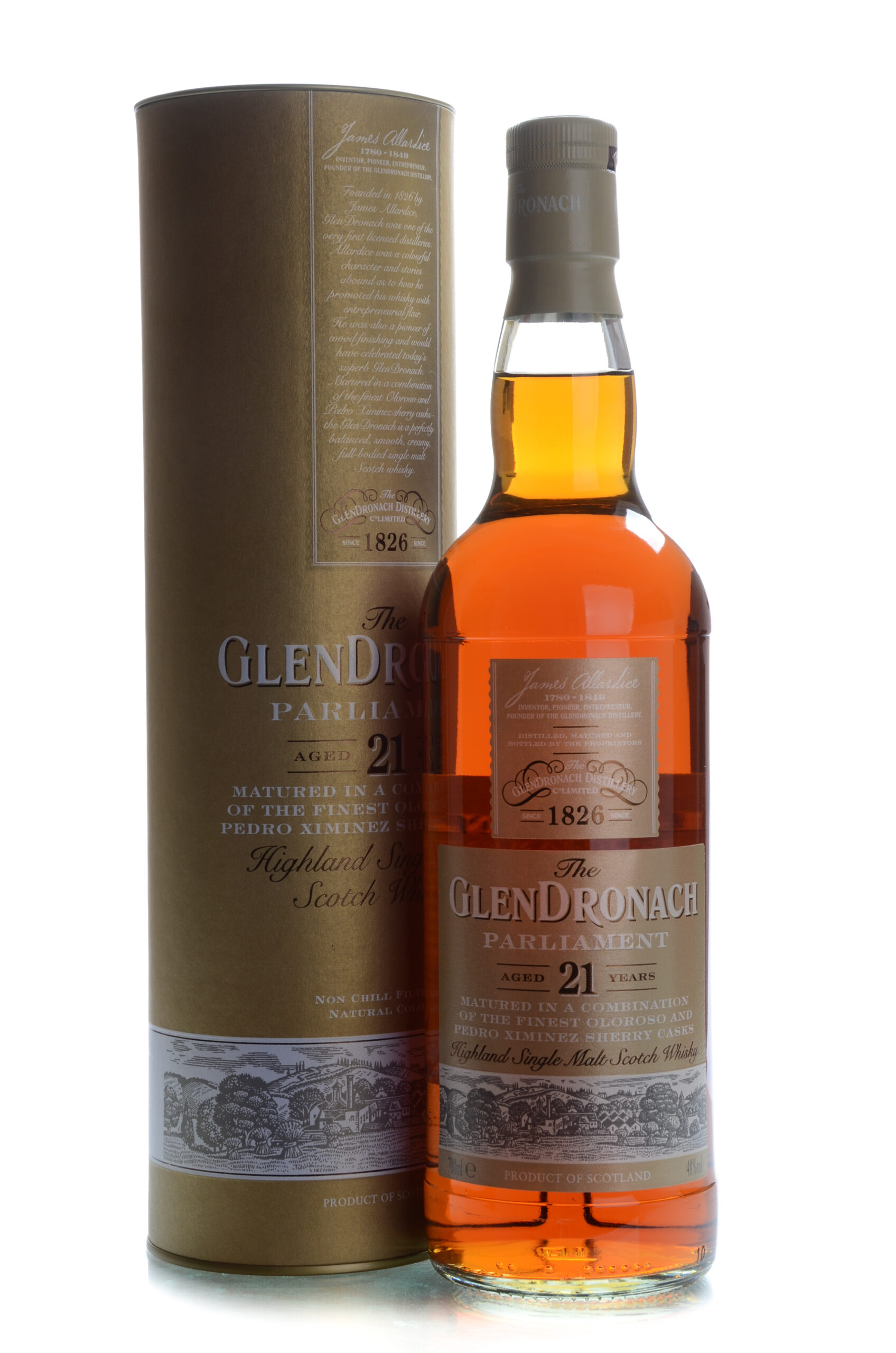 The Glendronach Parliament 21 years
