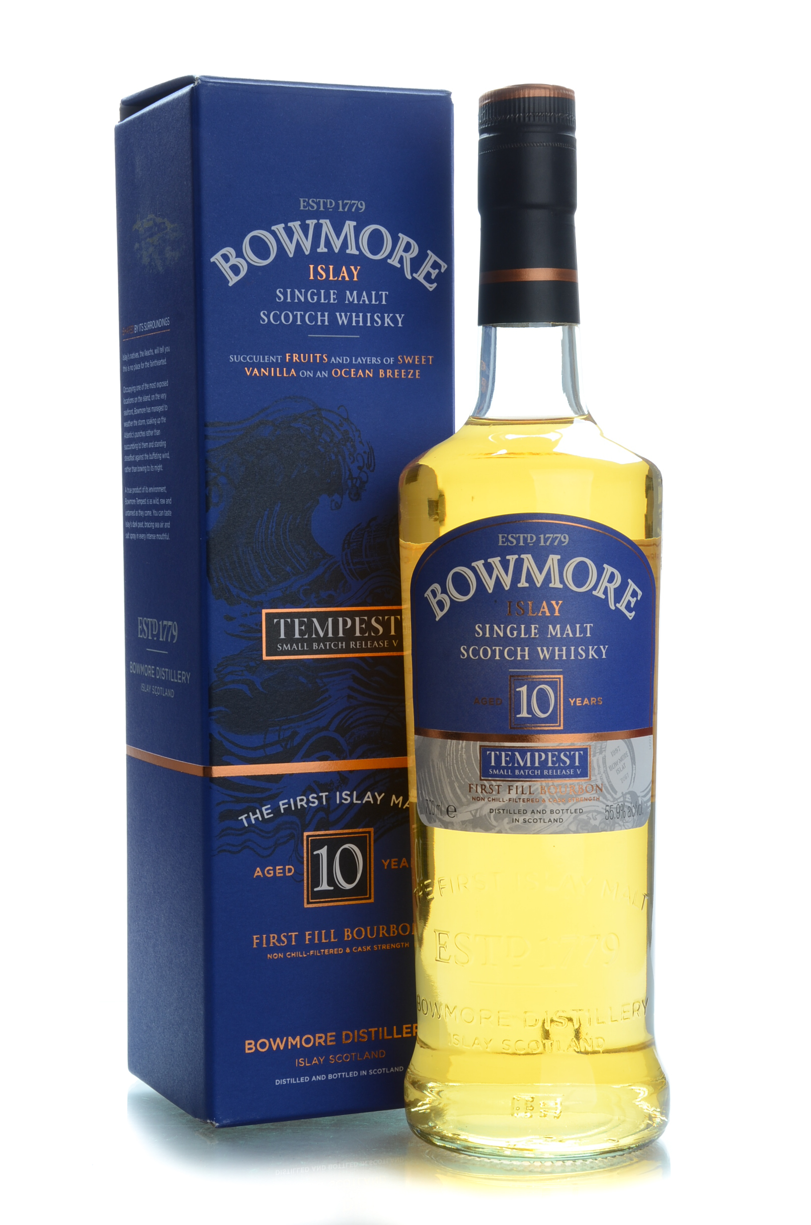 Bowmore 10y tempest release 5 55.9