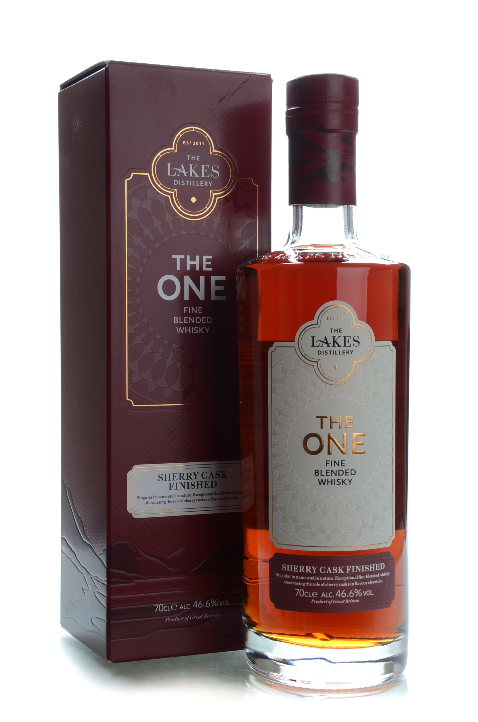 the lakes the one sherry cask finished