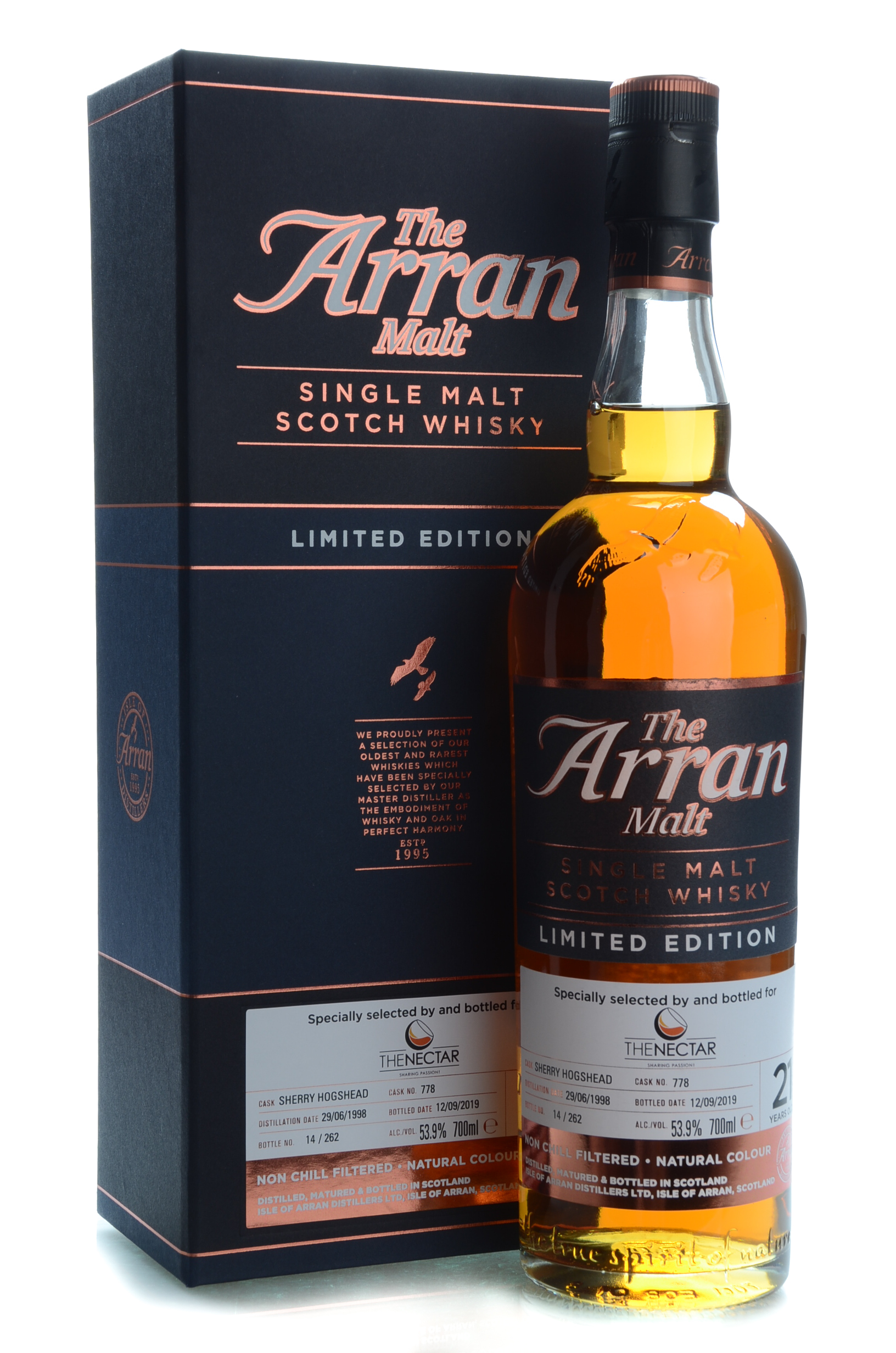 the arran malt 21y