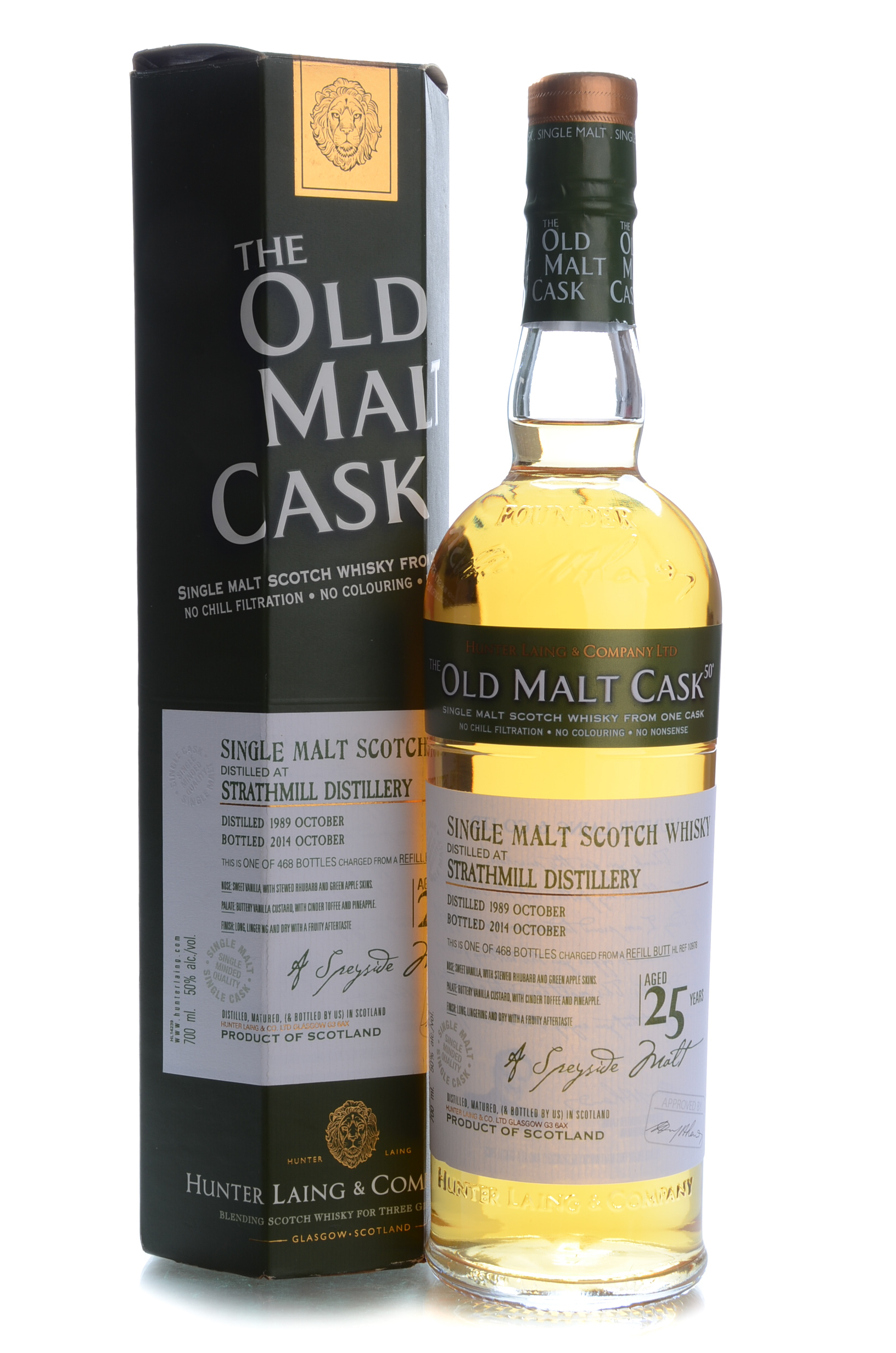 the old malt cask strathmill 25y