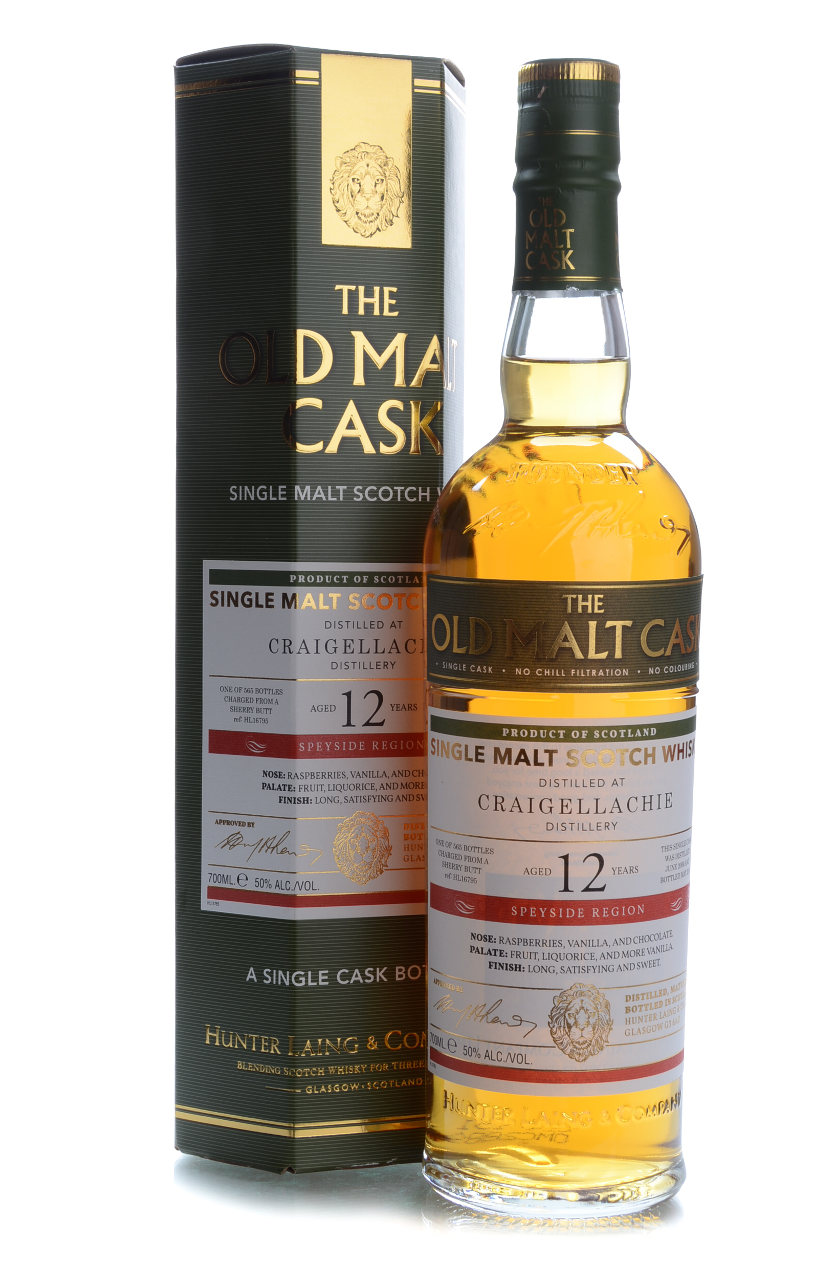 the old mask craigellachie 12y